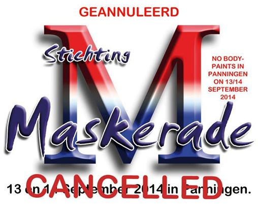 maskerade cancelled